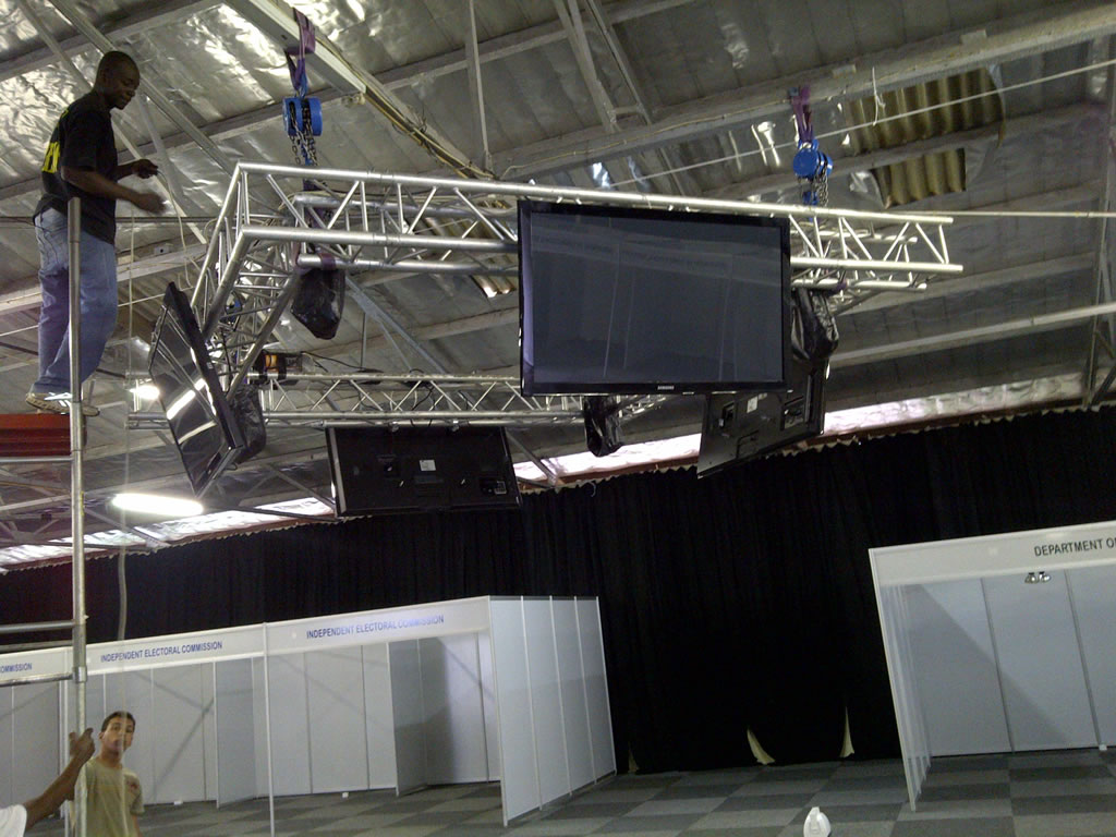 Rigging Amp Structures Big Beat Productions